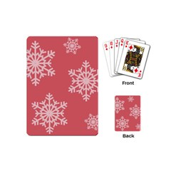 Let It Snow Playing Cards (mini)