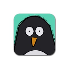 Penguin Close Up Drink Coasters 4 Pack (square)
