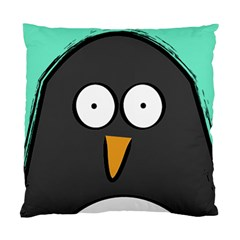 Penguin Close Up Cushion Case (Two Sided)