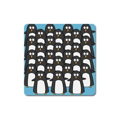 Penguin Group Magnet (Square)