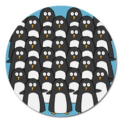 Penguin Group Magnet 5  (round)