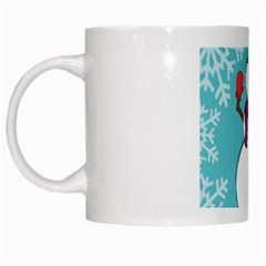 Snowman White Coffee Mug