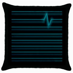 I m Alive Throw Pillow Case (Black)