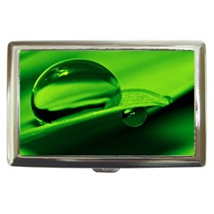 Green Drop Cigarette Money Case