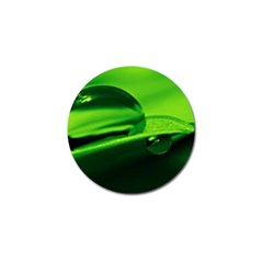 Green Drop Golf Ball Marker