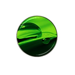 Green Drop Golf Ball Marker 4 Pack (for Hat Clip)