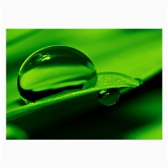 Green Drop Glasses Cloth (Large, Two Sided)