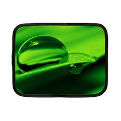 Green Drop Netbook Case (small)
