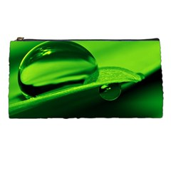 Green Drop Pencil Case