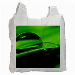 Green Drop Recycle Bag (one Side)
