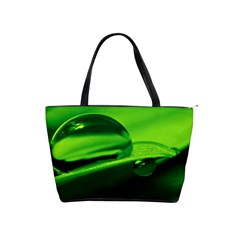 Green Drop Large Shoulder Bag