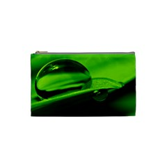 Green Drop Cosmetic Bag (Small)