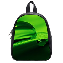 Green Drop School Bag (Small)