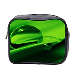 Green Drop Mini Travel Toiletry Bag (Two Sides)