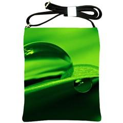 Green Drop Shoulder Sling Bag