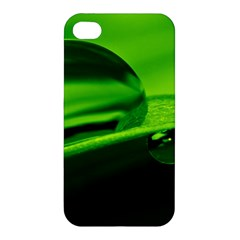 Green Drop Apple iPhone 4/4S Hardshell Case