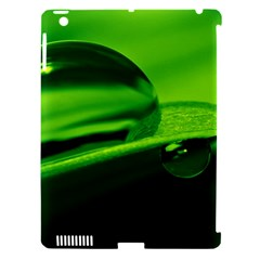 Green Drop Apple iPad 3/4 Hardshell Case (Compatible with Smart Cover)