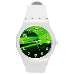 Green Drop Plastic Sport Watch (Medium)