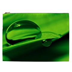 Green Drop Cosmetic Bag (XXL)