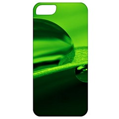 Green Drop Apple iPhone 5 Classic Hardshell Case