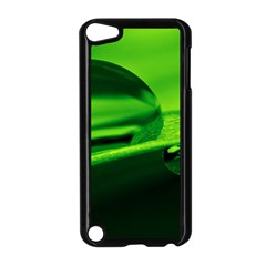 Green Drop Apple iPod Touch 5 Case (Black)
