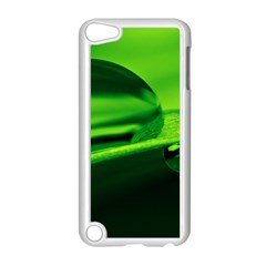 Green Drop Apple Ipod Touch 5 Case (white)
