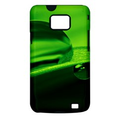 Green Drop Samsung Galaxy S II Hardshell Case (PC+Silicone)