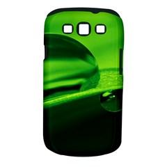 Green Drop Samsung Galaxy S III Classic Hardshell Case (PC+Silicone)