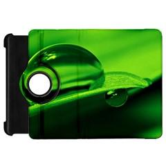 Green Drop Kindle Fire Hd 7  Flip 360 Case