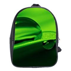 Green Drop School Bag (XL)