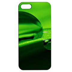 Green Drop Apple iPhone 5 Hardshell Case with Stand