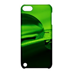 Green Drop Apple iPod Touch 5 Hardshell Case with Stand