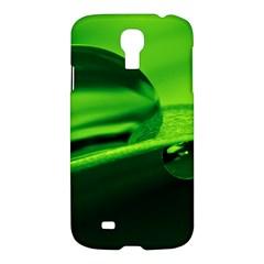Green Drop Samsung Galaxy S4 I9500/I9505 Hardshell Case