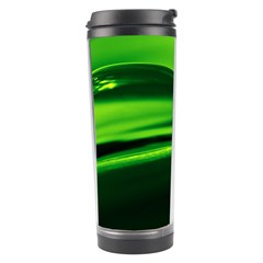 Green Drop Travel Tumbler
