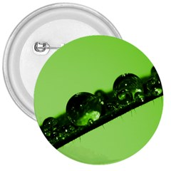Green Drops 3  Button