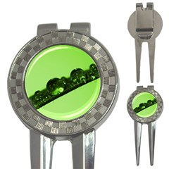 Green Drops Golf Pitchfork & Ball Marker