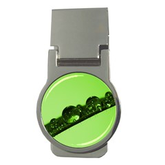 Green Drops Money Clip (Round)