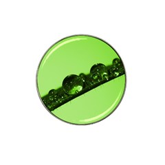 Green Drops Golf Ball Marker 4 Pack (for Hat Clip)
