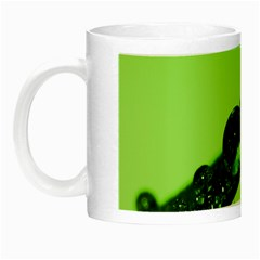 Green Drops Glow in the Dark Mug