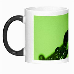 Green Drops Morph Mug