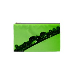 Green Drops Cosmetic Bag (Small)