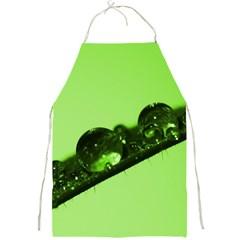 Green Drops Apron