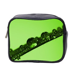 Green Drops Mini Travel Toiletry Bag (Two Sides)