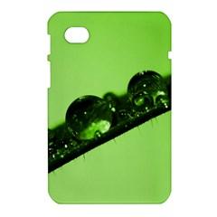 Green Drops Samsung Galaxy Tab 7  P1000 Hardshell Case
