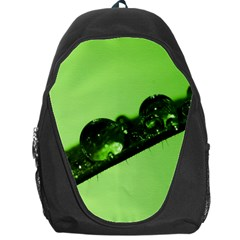 Green Drops Backpack Bag