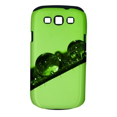 Green Drops Samsung Galaxy S III Classic Hardshell Case (PC+Silicone)