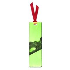 Green Drops Small Bookmark
