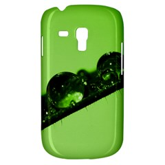 Green Drops Samsung Galaxy S3 Mini I8190 Hardshell Case