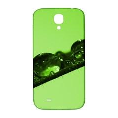 Green Drops Samsung Galaxy S4 I9500/i9505  Hardshell Back Case