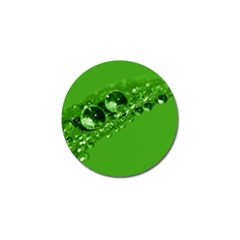 Green Drops Golf Ball Marker